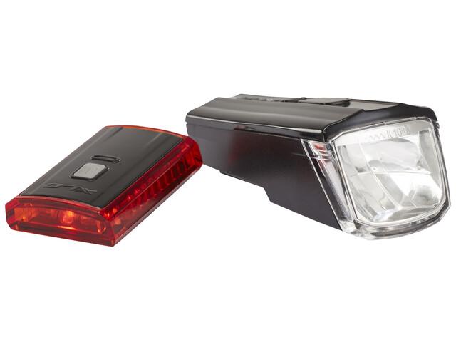 XLC Comp CL-S16 Zestaw oświetlenia Titania czarny
